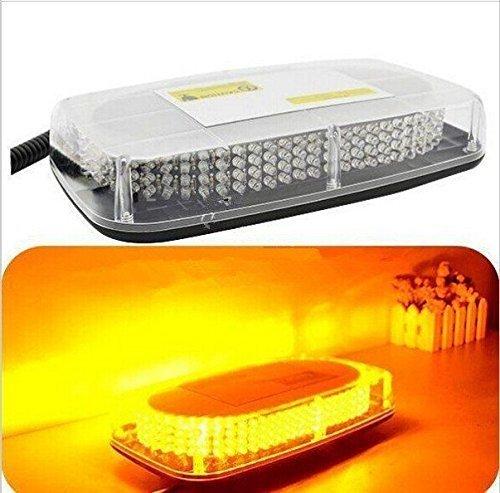 IP67 Impermeable 12V 240v LEDs Barra de luz Techo de Emergencia Faro Advertencia Flash Strobe Amarillo á mbar Trabajo de Color Claro en la Lluvia LILAUTO