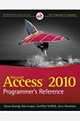 Access 2010 Programmer's Reference Kindle Edition