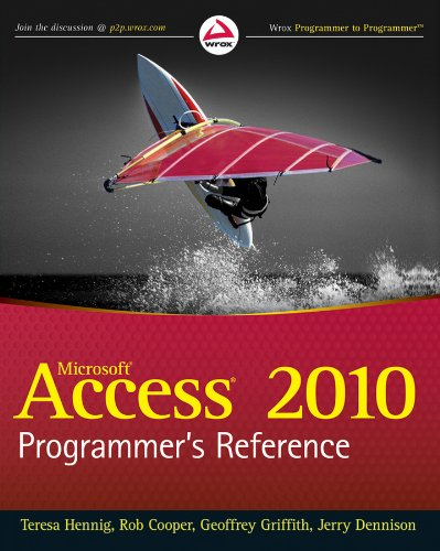 Access 2010 Programmer's Reference Pdf