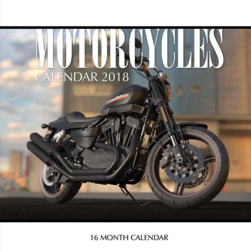 Motorcycles Calendar 2018: 16 Month Calendar [Paul Jenson] (Tapa Blanda)