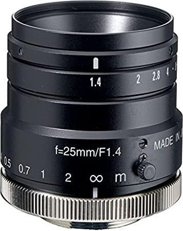 Kowa LM8HC 1 8mm F1.4 Manual Iris C-Mount Lens 2 Megapixel Rated