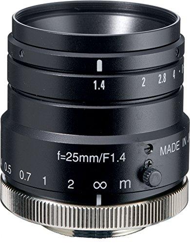 Kowa LM25HC 1'' 25mm F1.4 Manual Iris C-Mount Lens, 2 Megapixel Rated by Kowa