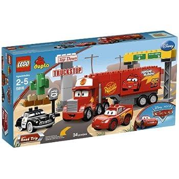 Amazon.com: LEGO DUPLO Cars Mack's Road Trip 5816: Toys & Games