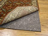 Durable, Reversible 10' x 14' ULTRA HOLD(TM) Rug Pad for Hard Surfaces and Carpet