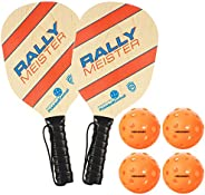 Rally Meister Pickleball Paddle and Sets by PickleballCentral   Great for Beginners, families & kids   Qua