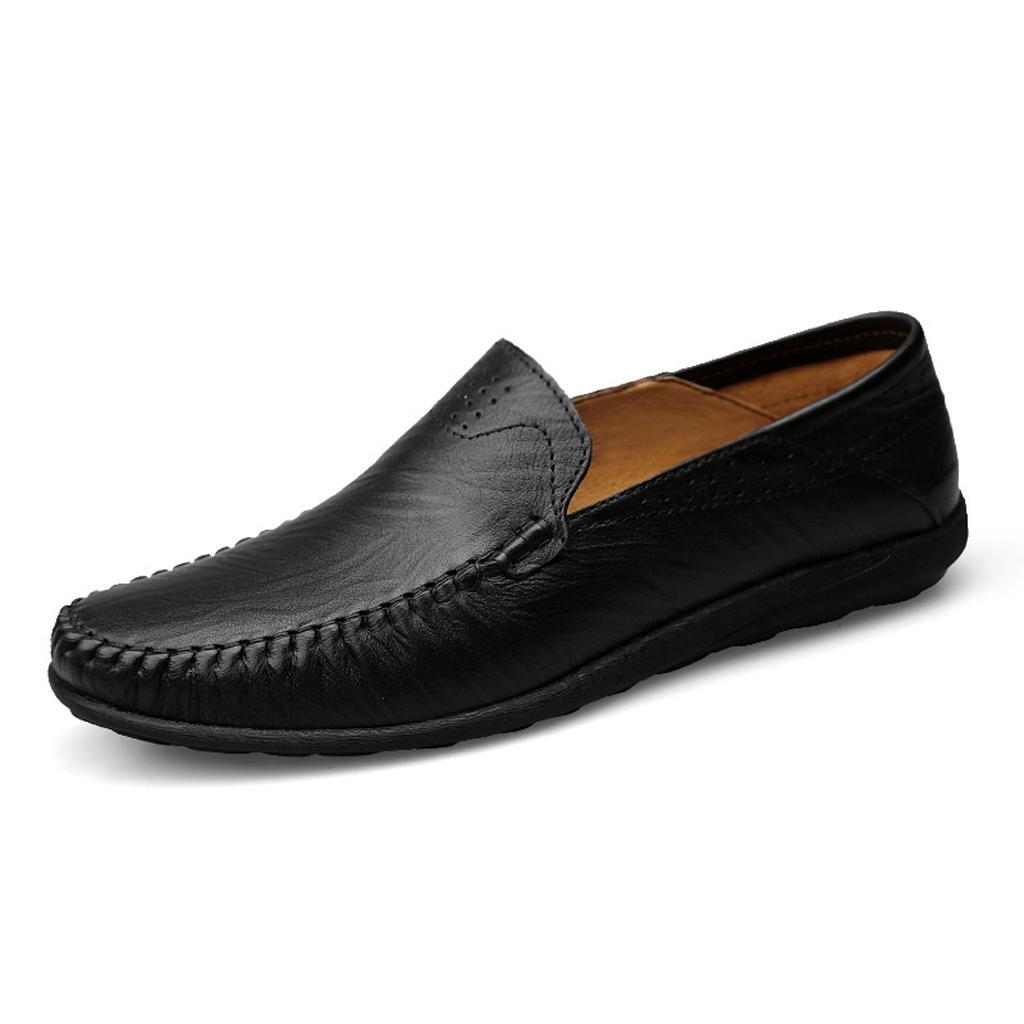 Zapatos de Hombre Zapatos de Trabajo Zapatos de Vestir Zapatos al Aire Libre Zapatos Grandes 45 EU|Black