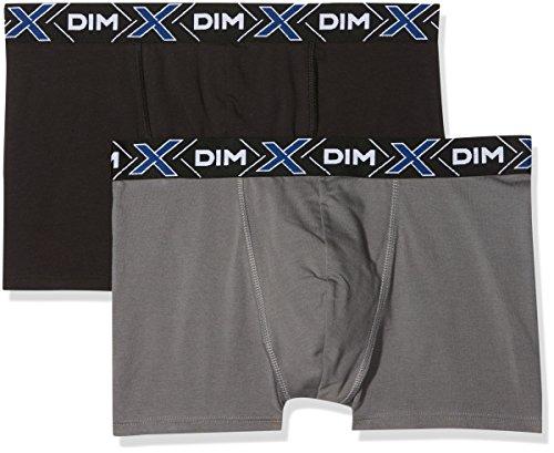 Uni gris 2 temp X Dim Multicolore Homme Foncé Noir Lot De Boxer zftwYxq