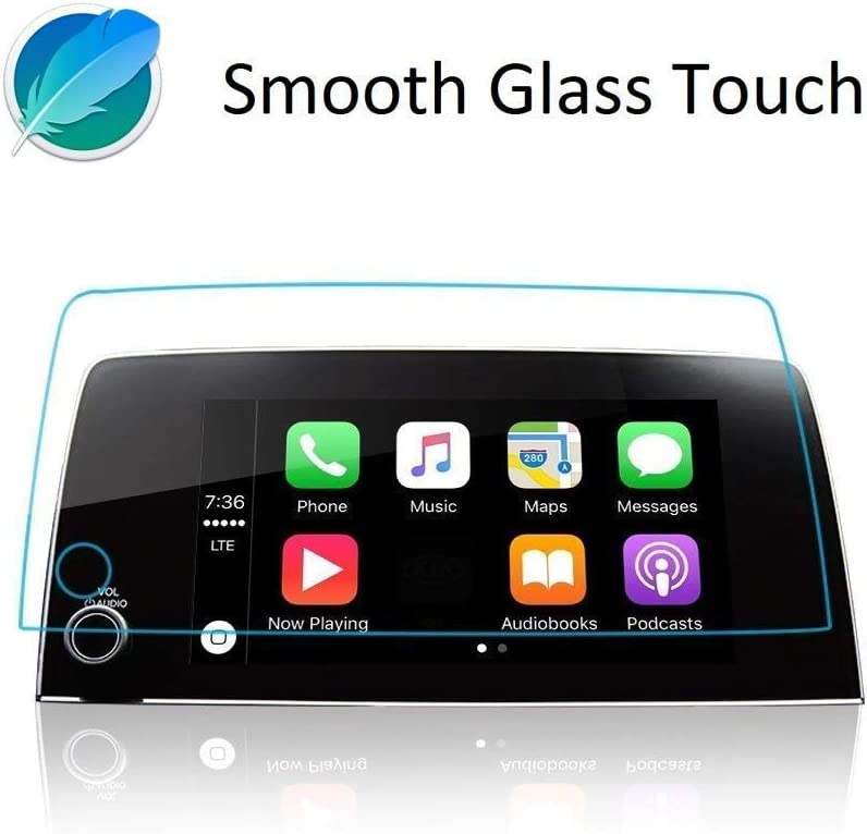 Tempered Glass Screen Protector Compatible With 2019-2021 CRV,Anti-Explosion /& Scratch,HD Clear,SSSKY Premium Navigation Accessories Comaptible With CRV