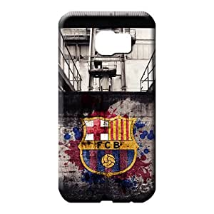 samsung galaxy s6 edge covers protection Protection Hd phone carrying cases fc barcelona sports