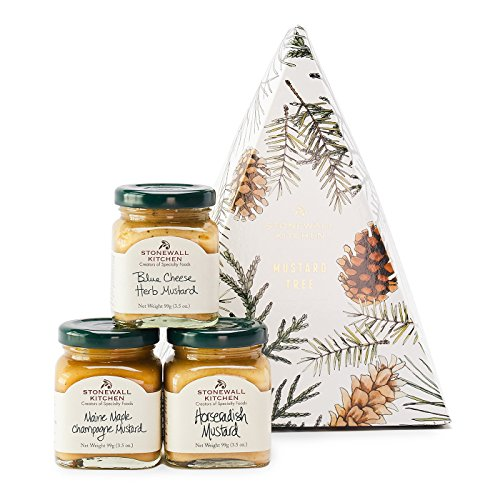 Stonewall Kitchen Holiday 2018 Mustard Tree made in New England