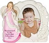 Angel Blessings Photo Frame - Girl, 7'' High, 13166