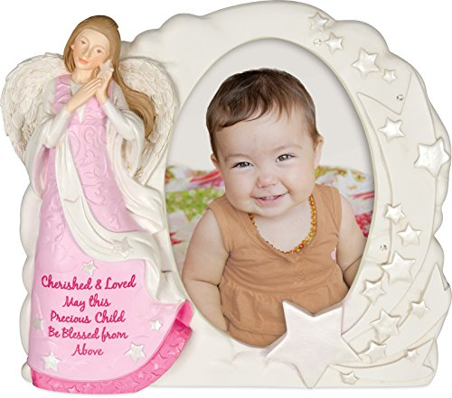 AngelStar Angel Blessings Photo Frame - Girl, 7 Inches High, 13166