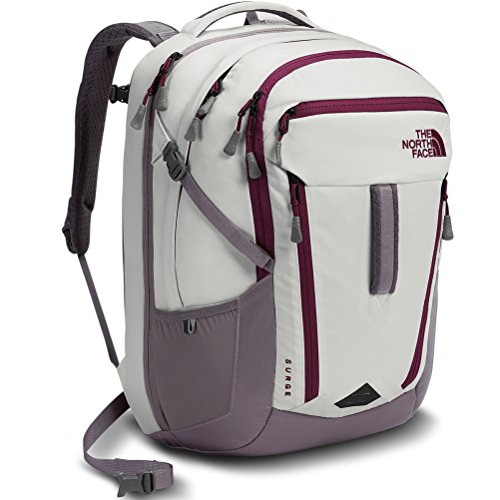 North Face Women's Surge Backpack Vaporous Grey Light Hea...