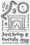 Avery Elle ST-18-25 Clear Stamps Fireside