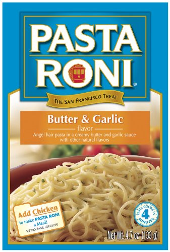 Pasta Roni Butter & Garlic Flavor, 4.7 oz