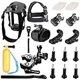 Neewer PRO Pet Dog Chest Harness Kit Chest Strap Belt Mount Remote Control Wrist Strap for GoPro Hero Session/5 Hero 3 3+ 4 5 SJ4000 5000 DBPOWER AKASO VicTsing APEMAN WiMiUS Rollei QUMOX and More