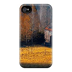 New Cute Funny Farm In Autumn Cases Covers/ Ipod Touch 4 Cases Covers