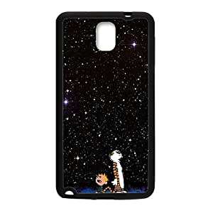 Cartoon Galaxy Star Sky Black Samsung Galaxy Note3 case