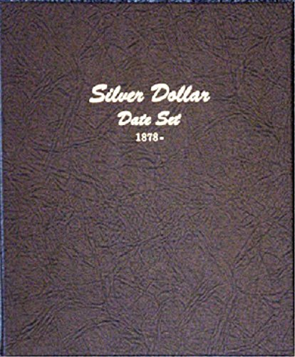 Dansco US Dollar (Morgan, Peace, Eisenhower, Anthony) Date Set Coin Album 1878 - 1999 #7172