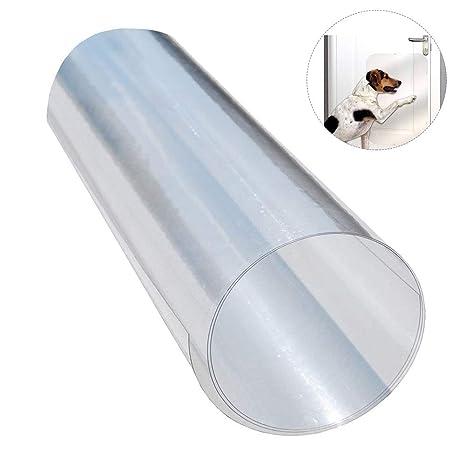 ATpart - Protector de arañazos de perro para puertas, para cortar y crear tú mismo