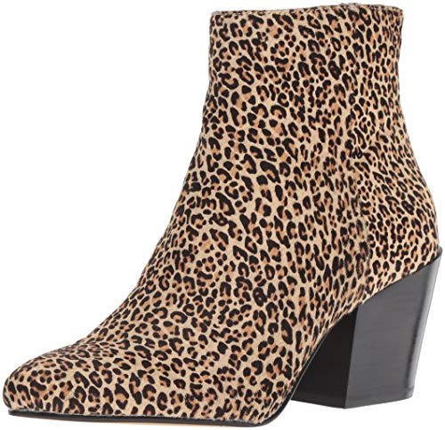 (Dolce Vita Women's Coltyn Ankle Boot, Leopard Calf Hair, 8 M US)