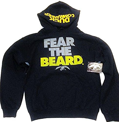 Fear The Beard Duck Dynasty Hoodie, X-Large (Fear The Beard Duck Commander)