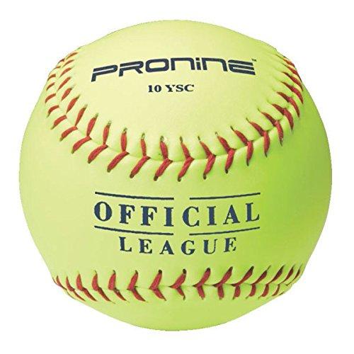 ProNine 8 and Under Softballs 10インチ8u / 6uガールズ( 3 Pack ) B06XZH78KG