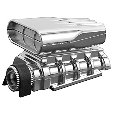 RPM 73413 Chrome Mock Intake and Blower Set: Toys & Games