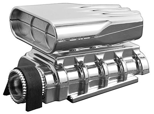 RPM 73413 Chrome Mock Intake and Blower Set (Rc Body Truck)