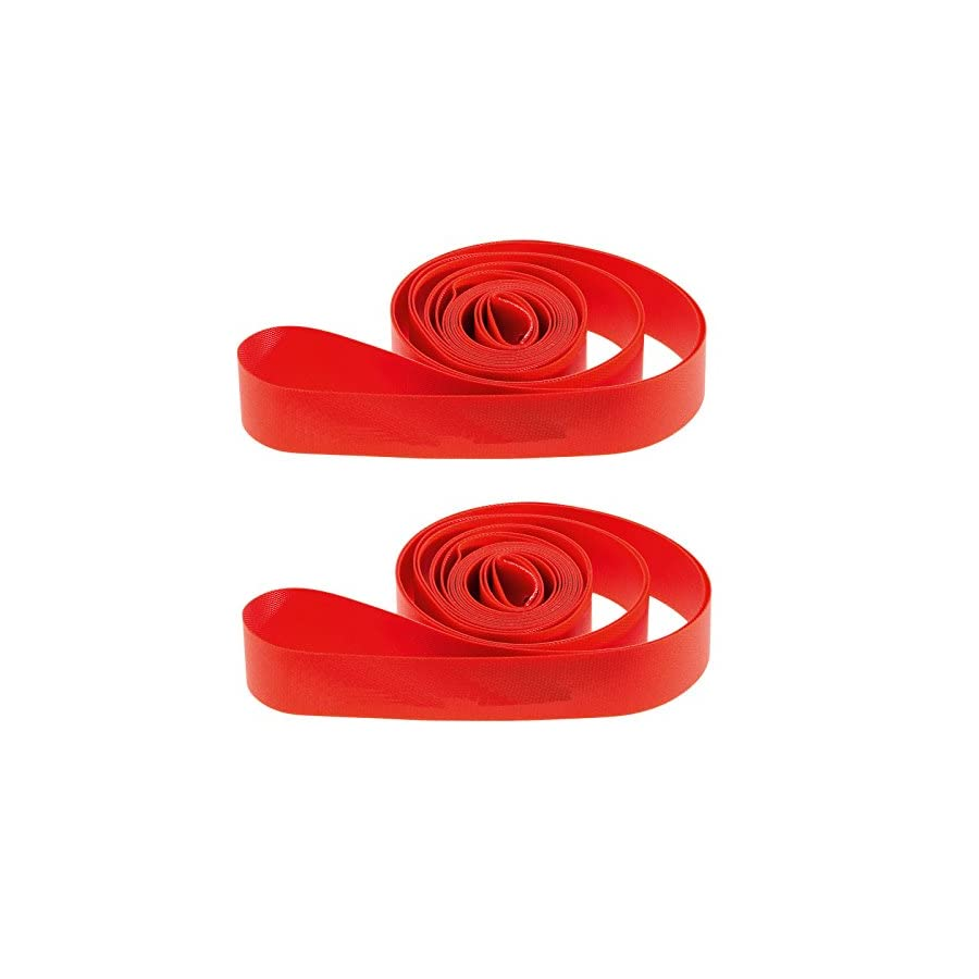 Ultimate Hardware 700c / 29er Bike Wheel Rim Tape Strips Red (Pair)