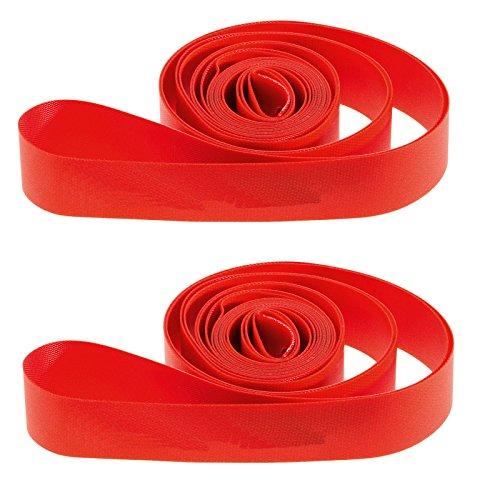 Ultimate Hardware 700c / 29er Bike Wheel Rim Tape Strips Red (Pair)