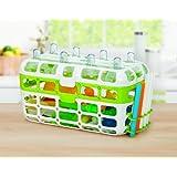 Munchkin High Capacity Dishwasher Basket, Colors May Vary