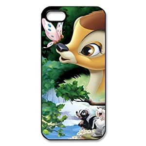 Customize Black White Cartoon Disney Bambi Back Case for For iphone 6 plus 5.5 JN-2183