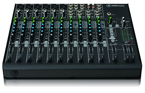 Mackie 1402VLZ4, 14-channel Compact Mixer with High Quality Onyx Preamps by Mackie