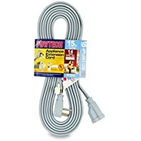 PowTech 15 Foot Air Conditioner and Appliance Extension Cord UL Listed by Powtech