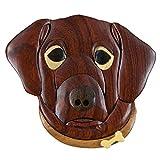Dog Wooden Magnet