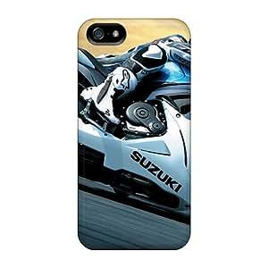Tpu Case Cover Compatible For Iphone 5/5s/ Hot Case/ 2011 Suzuki Gsx R600