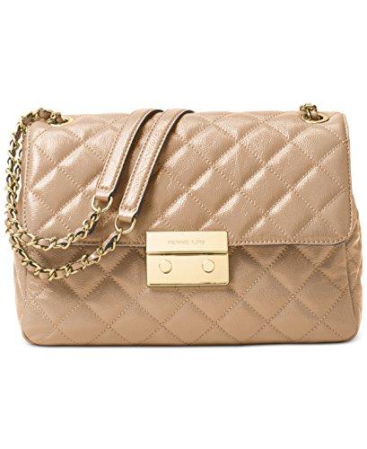 Michael Kors Sloan Extra Large Chain Shoulder Bag Leather - Kors Is Michael Expensive