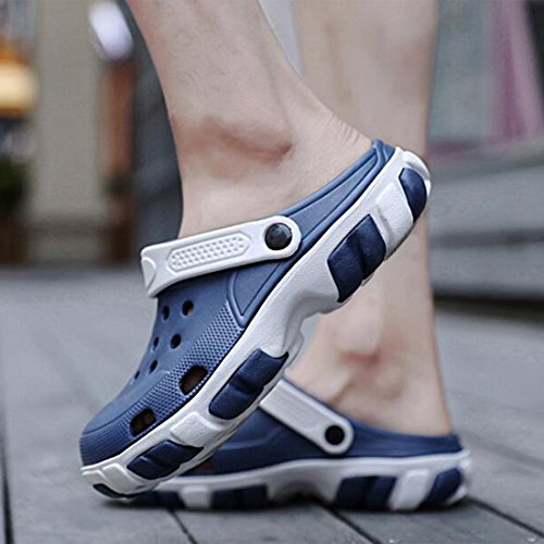 da Uomo Scarpe Estive Pantofole da Spiaggia Uomo da Casual Blue ZHONGST q8fwgBxSn