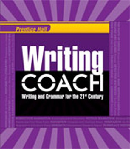 WRITING COACH 2012 STUDENT EDITION GRADE 10