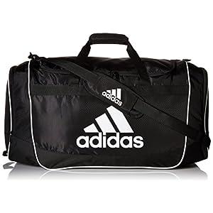 adidas Defender II Duffel Bag (Large), Black, 15 x 29 x 12-Inch