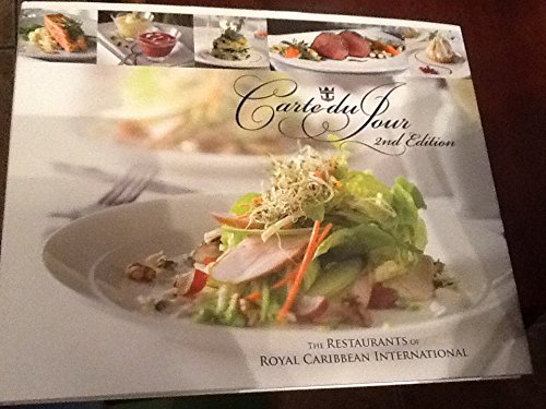 Royal Carribean Carte Du Jour Cookbook   2Nd Edition