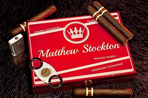 Engraved Cigar Humidor - 6