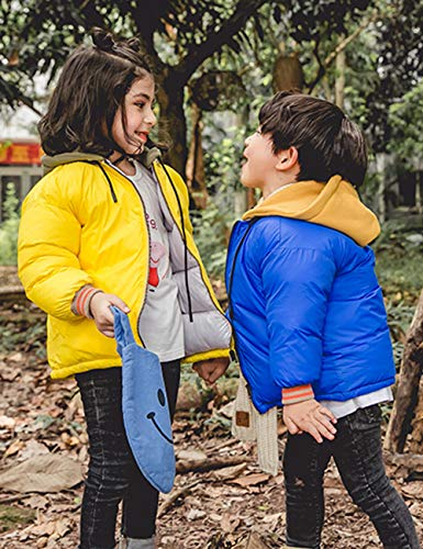 BESBOMIG Boys Zipper Army Girls Casual Jackets Outerwear Daily Coats Kids Durable Green Jacket Cotton Wear Children Hooded rIFrqxdw