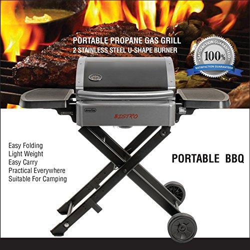 Martin Portable Steel BBQ Propane Grills for