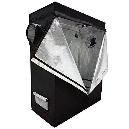 Indoor Greenhouse Kits - Oshion 4x2x5 Feet Small Indoor Mylar Hydroponics Grow Tent Room (48