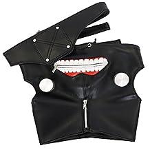 CG Costume Men's Tokyo Ghoul Ken Kaneki Mask Cosplay Costume