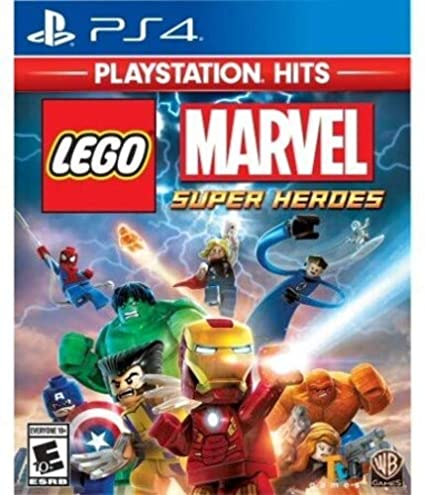 Lego Marvel Super Heroes PlayStation Hits for PlayStation 4 USA ...