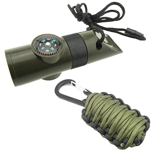 7 In 1 Survival Whistle With Led Light in Florida - 2
