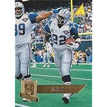 Emmitt Smith football card (Dallas Cowboys Hall of Fame) 1995 Pinnacle Quarterback Collection #226